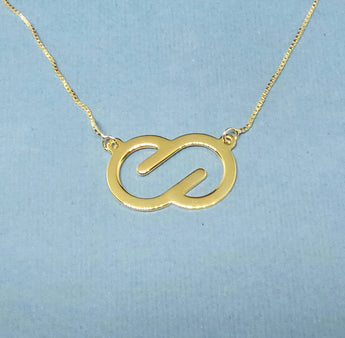 Delicate Infinity Necklace Infinity Charm necklace Infinity Love Necklace Infinity Jewelry Design Infinity Shape Necklace - My Boho Jewelry