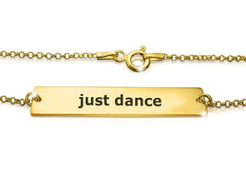 Just Dance Bracelet in solid gold - My Boho Jewelry
