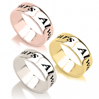 Handwriting Name Ring - My Boho Jewelry