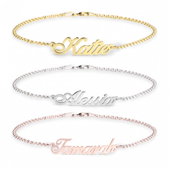 Personalized Name Bracelet - My Boho Jewelry