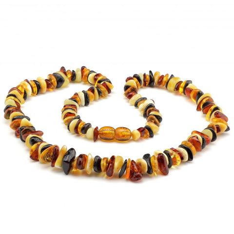 Baltic amber necklace 159