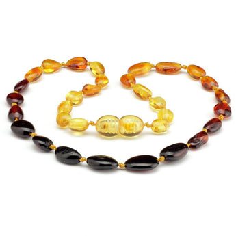 Baby teething amber necklace 62