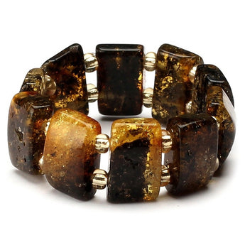 Baltic amber ring 10
