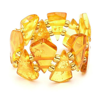 Baltic amber ring 15