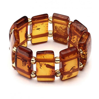 Baltic amber ring 2