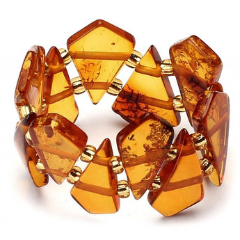 Baltic amber ring 9