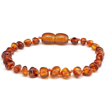 Baroque amber teething bracelet 13