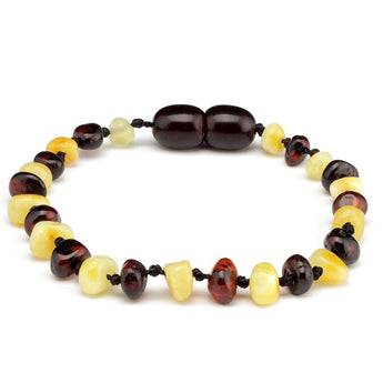 Baroque amber teething bracelet 16