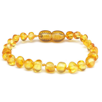 Baroque amber teething bracelet 17