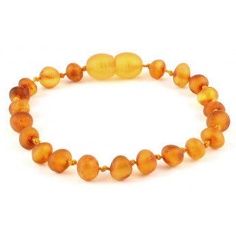 Baroque amber teething bracelet 24