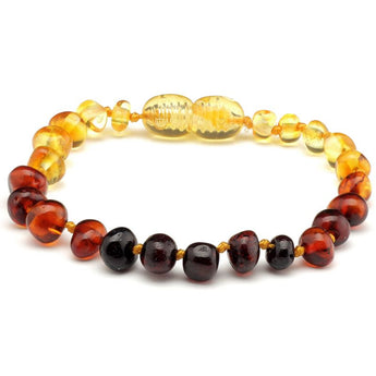 Baroque amber teething bracelet 30