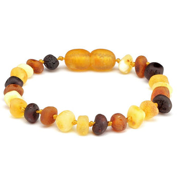 Baroque amber teething bracelet 32