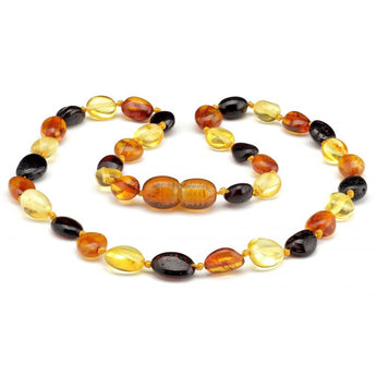 Baby teething amber necklace 21