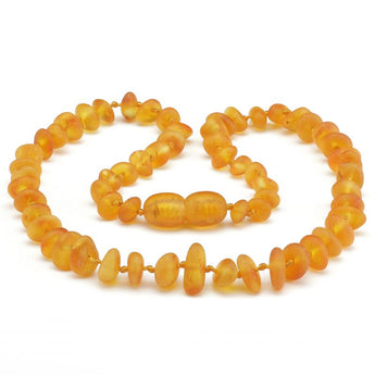 Baby teething amber necklace 24