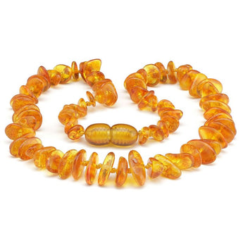 Baby teething amber necklace 66