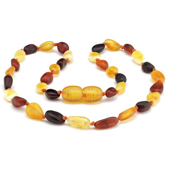 Baby teething amber necklace 72