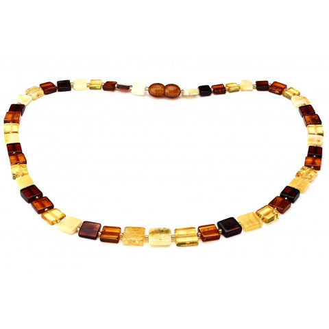 Baltic amber necklace 87
