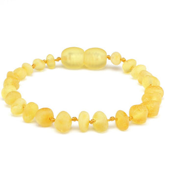Baroque amber teething bracelet 25