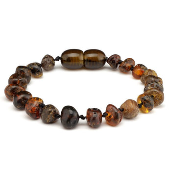 Baroque amber teething bracelet 34