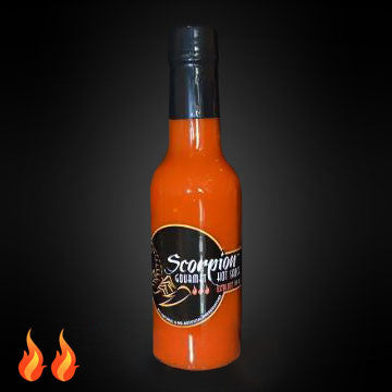 Scorpion Gourmet Hot Sauce 5 OZ - Med