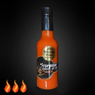 Scorpion Gourmet Hot Sauce 5 OZ - Hot