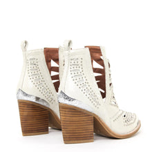 JEFFREY CAMPBELL MACEO. Studded Western Bootie. Beige Snake. Designed In California. Buy Now Afterpay & zipPay Available. Free & Fast Shipping AU.