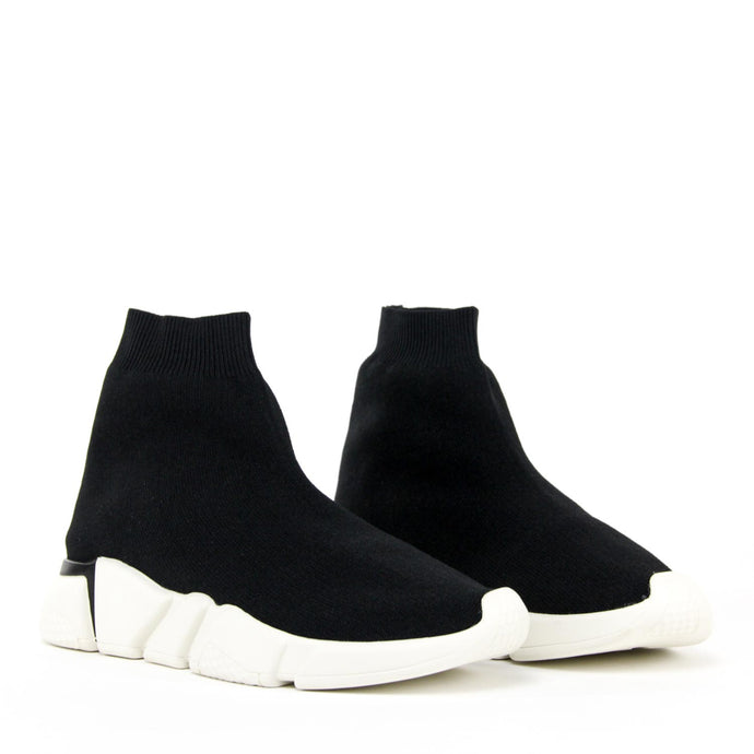 JEFFREY CAMPBELL REDMAN Mid-Top Knit Sneaker.