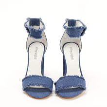 JEFFREY CAMPBELL LINDSAY. High Block Heel Sandal. Blue Denim. Free Shipping Australia Wide Over $150. Shop Now Pay Later Afterpay.