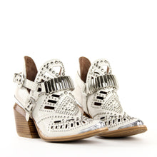 JEFFREY CAMPBELL CALHOUN 4. Studded Western Bootie. Beige Snake. Designed In California. Exclusive to Amo Store. Buy Now Afterpay & zipPay Available. Free & Fast Shipping AU.