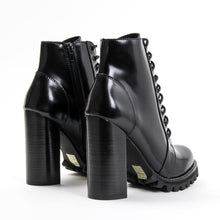 This boot means business. The sky-high lacing system, towering chunky heel and no-nonsense lug sole deliver a downtown disposition with an uptown state of mind. Lace it up the front for a custom fit and then zip it on and go. Free, Fast Shipping Australia Wide On Orders Over $150. Afterpay & Zip Pay Available.