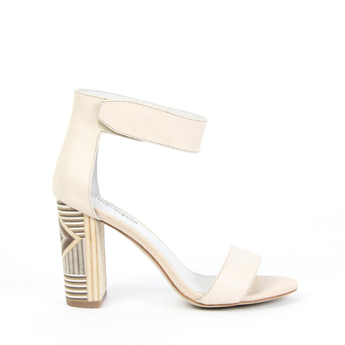 LINDSAY WD High Sandal Natural