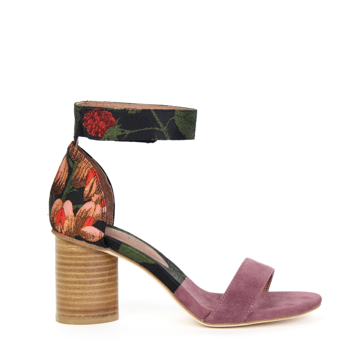 6e660e4f9a0c Details about NEW JEFFREY CAMPBELL PURDY Mid Heel Sandal Purple Rose