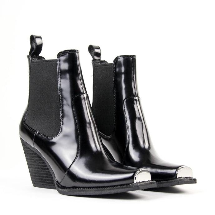 Jeffrey Campbell Surrey Black Box Leather