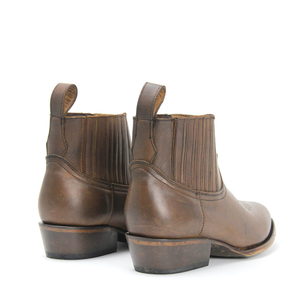 Matisse Mustang Saddle Western Ankle