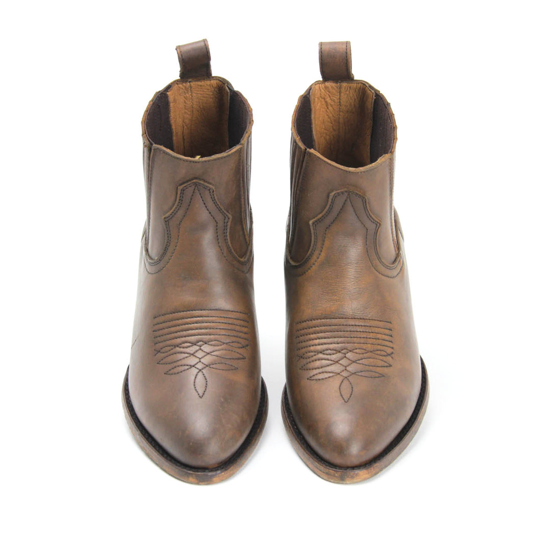 Matisse Mustang Saddle Western Ankle Boot Amo Store