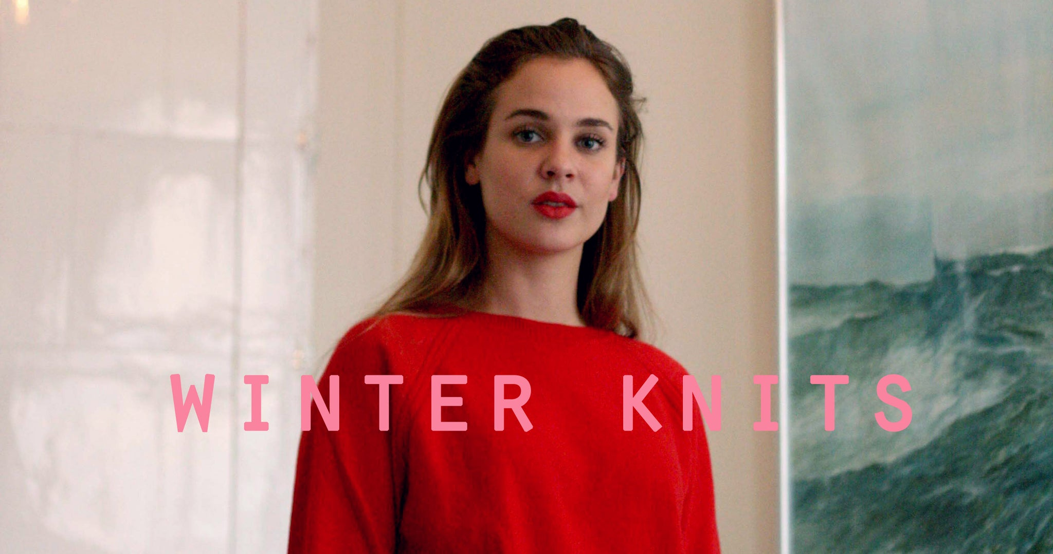 Sustainable Winter Knits