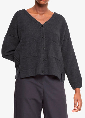 EMERY - Lambswool cardigan