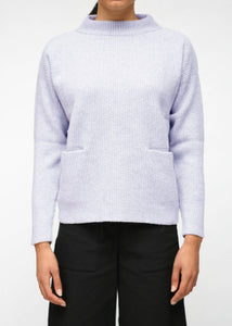 HELGA - Wool sweater with pockets
