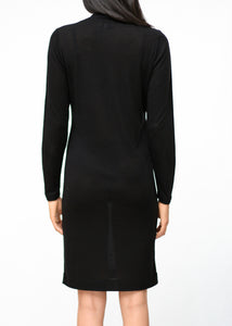 AUDE - Ribbed Tencel Jersey Dress