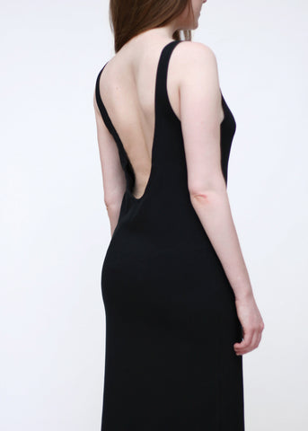 Open Back Organic Dress