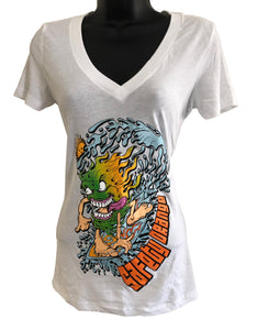 Tee - Women's - Surf Monster