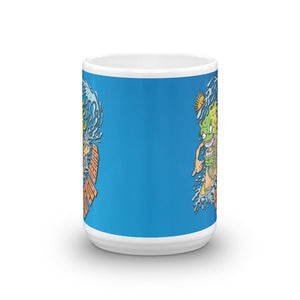 Zprintful - Surf Monster Mug
