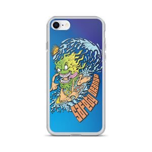 Zprintful - Surf Monster iPhone Case