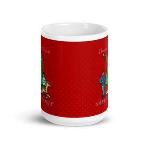 Christmas with Friends Mug