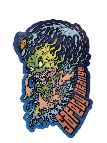 Sticker - Surf Monster
