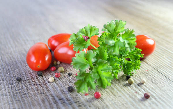 4Senses-parsley and tomatoes