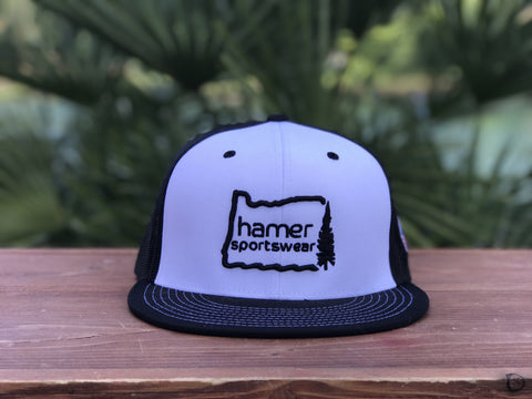 'Pacific Life' snapback flatbill or curved hat