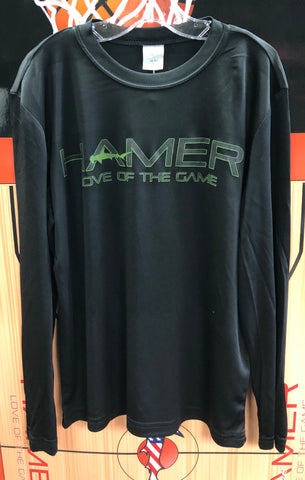 Youth hamer long sleeve shirt