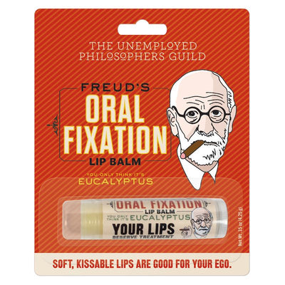 The Unemployed Philosophers Guild - Freud's Oral Fixation - Lip Balm