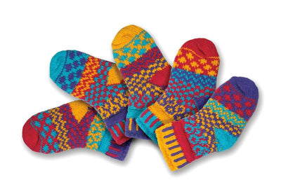 Solmate Socks - Firefly Set of 5 - Baby Socks
